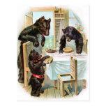 The Three Bears Post Cards