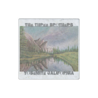The Three Brothers Stone Magnets