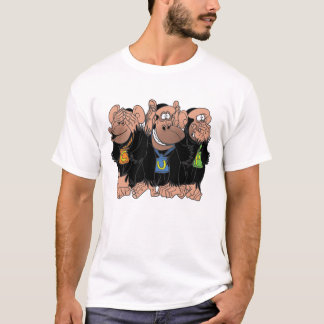 THE THREE CHIMPS T-Shirt