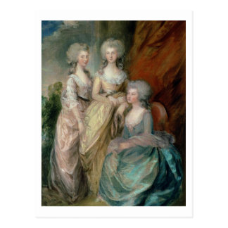 The three eldest daughters of George III: Princess Postcard