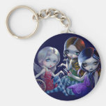 """The Three Fates"" Keychain"