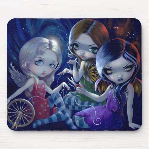 """The Three Fates"" Mousepad"