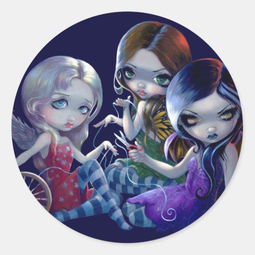 """The Three Fates"" Sticker"