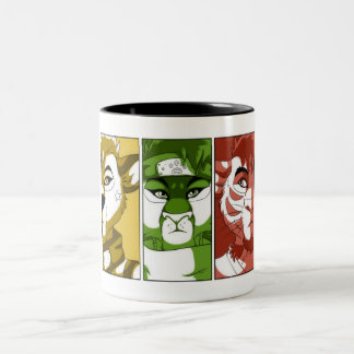 """The Three Guardians"" Two-Colour Mug"