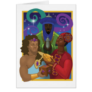 The three Kings Card
