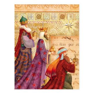 The Three kings Postcard