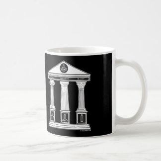 The Three Pillars of Freemasonry Coffee Mug