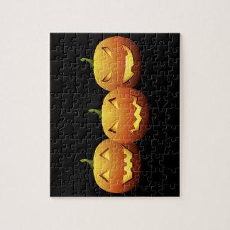 The Three Pumpkins Jigsaw Puzzle