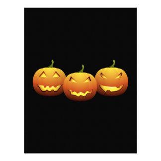The Three Pumpkins Letterhead