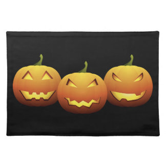 The Three Pumpkins Placemat