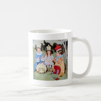 The Three Queens of Wonderland Do Lunch Coffee Mug