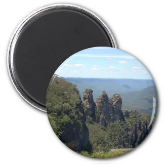 The Three Sisters 2 Inch Round Magnet