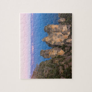 The Three Sisters, Blue Mountains, New South Wales Jigsaw Puzzle