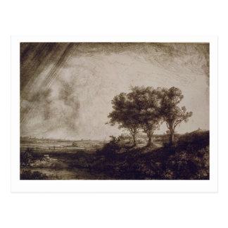 The Three Trees Postcard