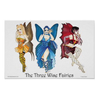 The Three Wise Fairies 11x17 Poster