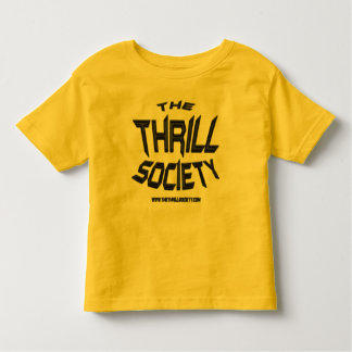 The Thrill Society Logo Squeezed Design Toddler T-shirt