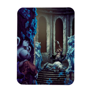 The Throne of Frost Rectangular Photo Magnet