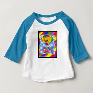 The TI Town Bears  T-  Shirt, whie blue long sleve Baby T-Shirt