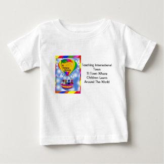 The TI Town Bears  T-  Shirt white 3