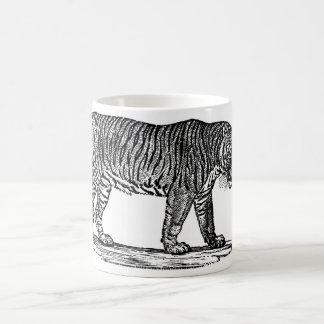 The Tiger Classic White Coffee Mug