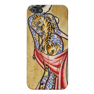 """The Tiger Tattoo"" iPhone 5 Cover"