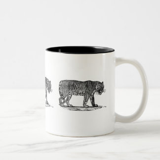 The Tiger Two-Tone Coffee Mug