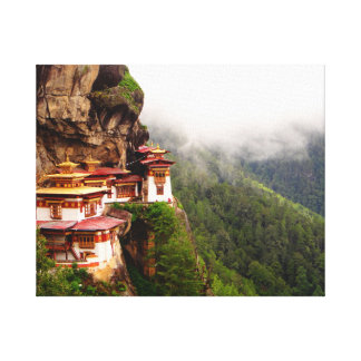 The Tiger's Nest Canvas Print