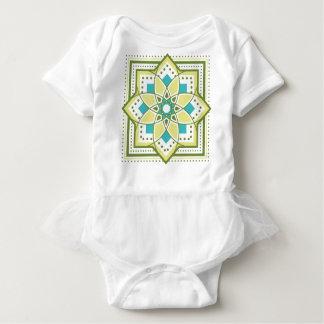 The tile handle raitogurin × emerald which yearns Baby Bodysuit