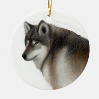 The Timber Wolf Ornament