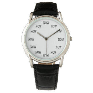 The Time is NOW wristwatch
