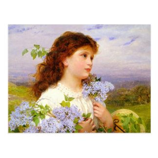 The Time of the Lilics Sophie Anderson PC Postcard