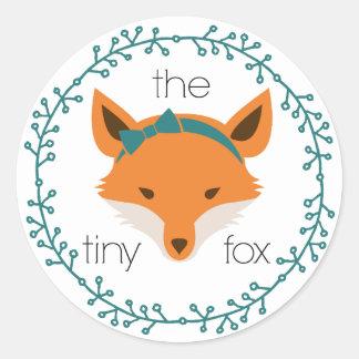 the tiny fox sticker
