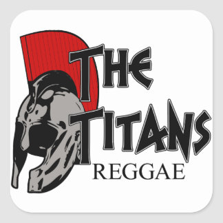 The Titans Helm sticker