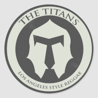 The Titans Logo Sticker