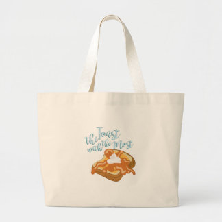 The Toast Large Tote Bag