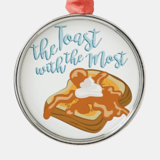 The Toast Metal Ornament