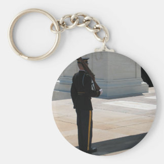 The Tomb of the Unknowns Keychain Basic Round Button Keychain