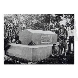 The Tomb of Tusitala Card