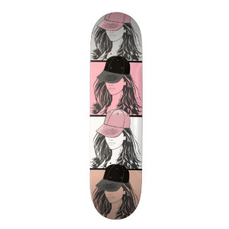 The Tomboy Colored Tiles Skateboard