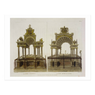The Tombs of Queen Elizabeth I and Mary Queen of S Postcard