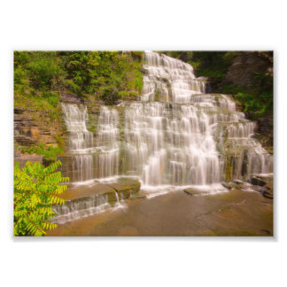 The top of Hector Falls, New York Photo Print
