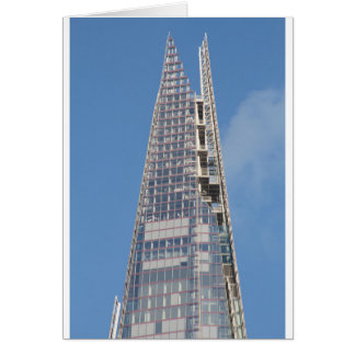 The Top of the Shard Card
