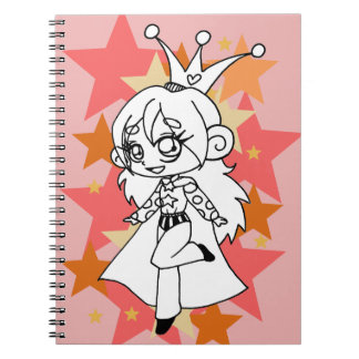 The toughest princess anteckningsblock spiral notebook