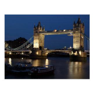 The Tower Bridge, London Postcard