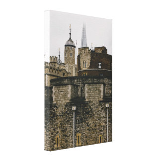 The Tower in London, United Kingdom Photograph Canvas Print