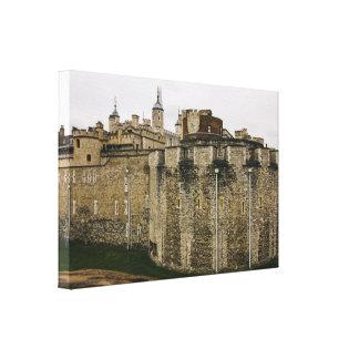 The Tower, London, United Kingdom Photograph Canvas Print