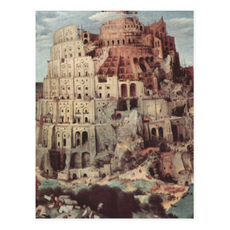 The Tower of Babel - Pieter Bruegel the Elder Postcard