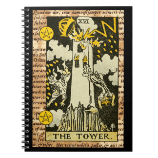 The Tower Tarot Card Notebook