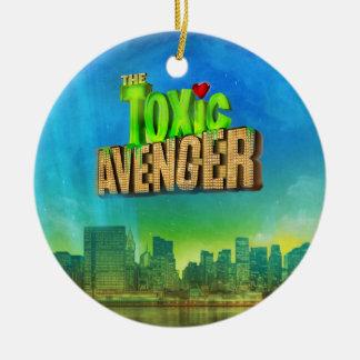 The Toxic Avenger Ceramic Ornament