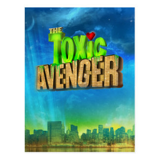 The Toxic Avenger Postcard